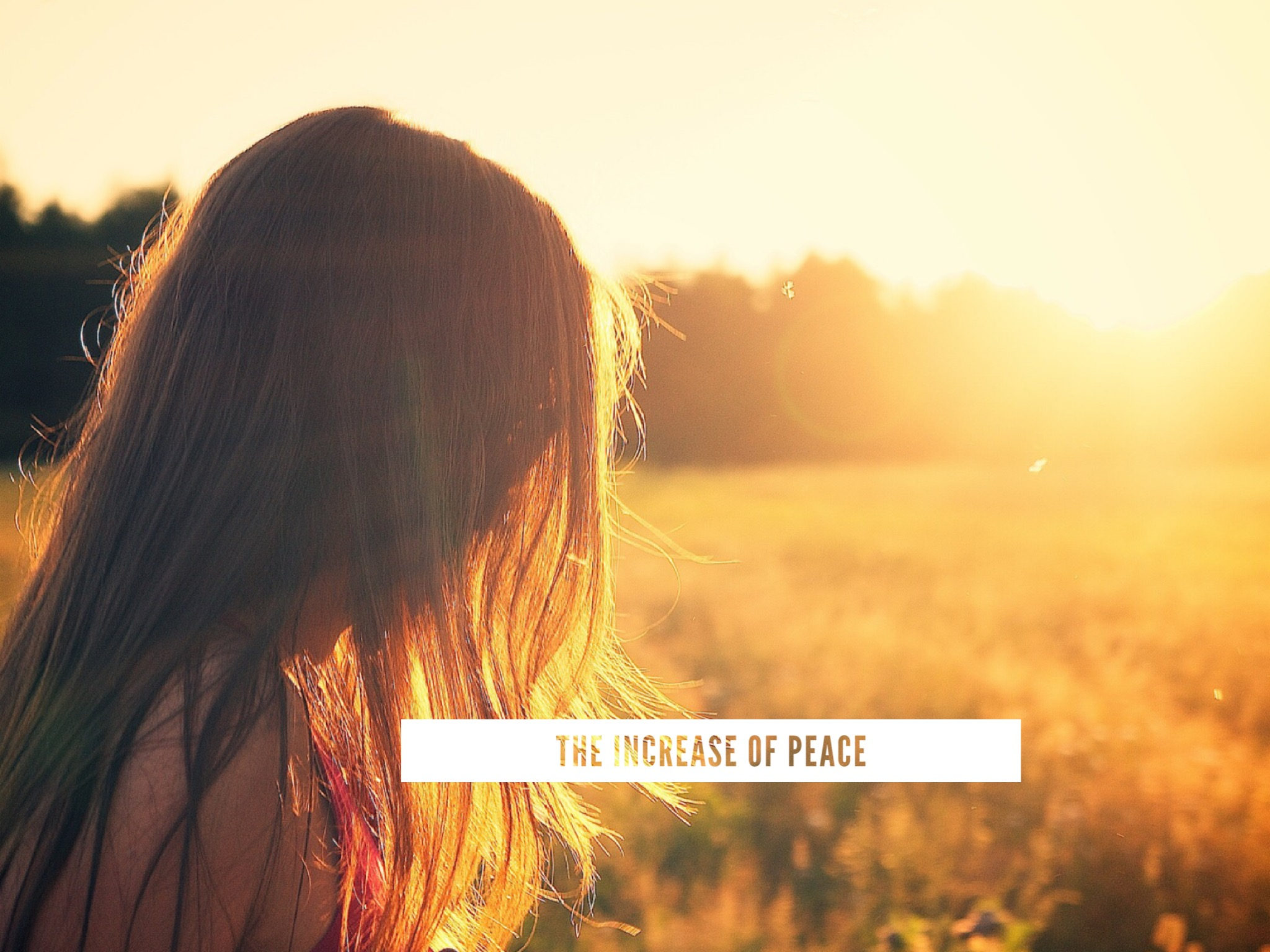 The Increase of Peace