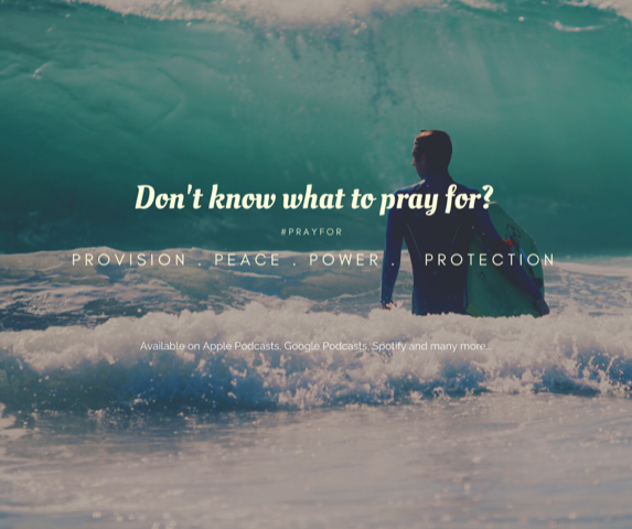 Sunday Message | Pray for Provision, Peace, Power and Protection